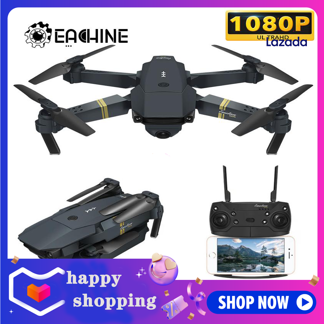 DSstyles SG106 Drone 2.4Ghz 4CH WiFi FPV Optical Flow Dual 720P HD Camera RC Helicopter Follow-up Headless Mode Quadcopter Selfie Drone Black