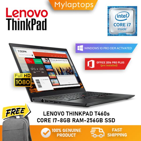LENOVO THINKPAD T460s [CORE I7-6600U / 20GB DDR4 RAM / 512GB SSD] FHD IPS DISPLAY / ULTRABOOK  / WINDOWS 10 PRO / 1 YEAR WARRANTY Malaysia