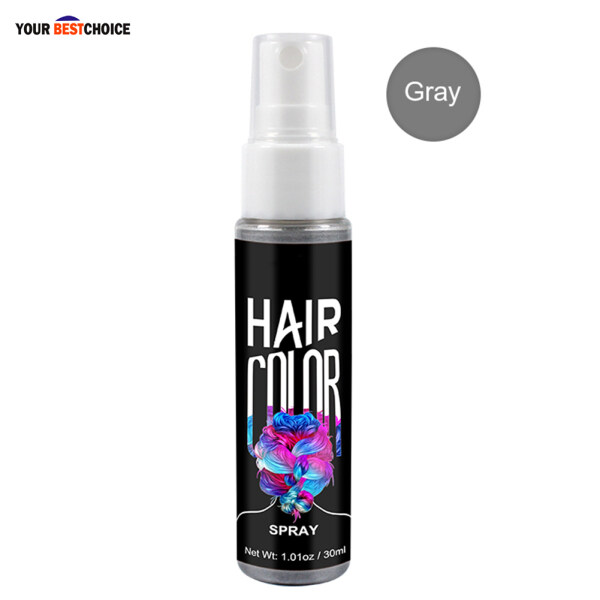 Xịt Màu Tóc YBC, Trang Điểm Làm Đẹp Thời Trang Màu Khô Một Lần Tạo Kiểu Tức Thì 30Ml