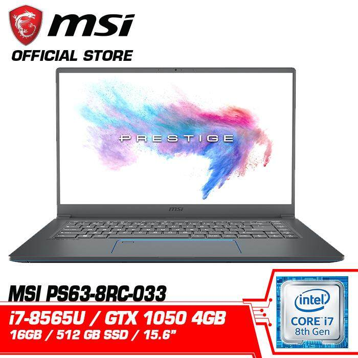 MSI PS63 8RC MODERN (GeForce® GTX 1050 4GB) Malaysia