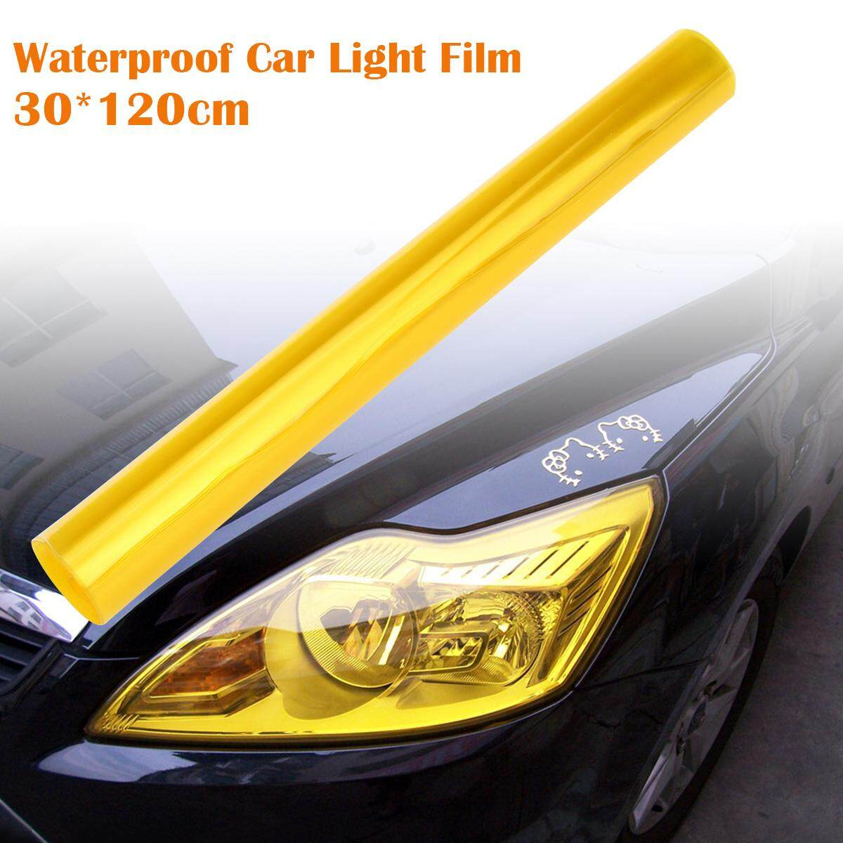 FOXNOVO 30*120cm Waterproof Car Auto Fog Light Headlight Tint Film Lights Color-Changing