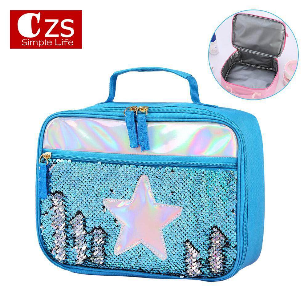 Bento Lunch Box Kids Insulated Carry Cooler Bag School Picnic Thermal Tote MP