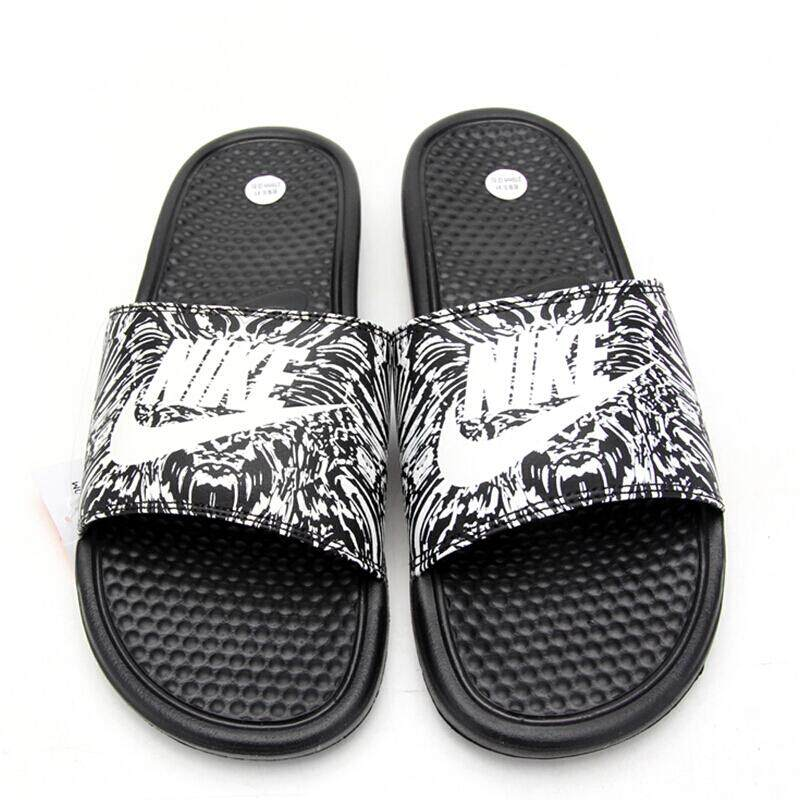 sports shoes 30576 6d571 Nike   male and female slippers 2018 Summer BENASSI JDI Mandarin ...