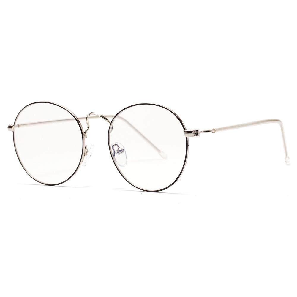 661286c6225a Thin Metal Frame Glasses Men Round Gold Black Accessories for Women Optical  Eyeglasses Frame Men Retro