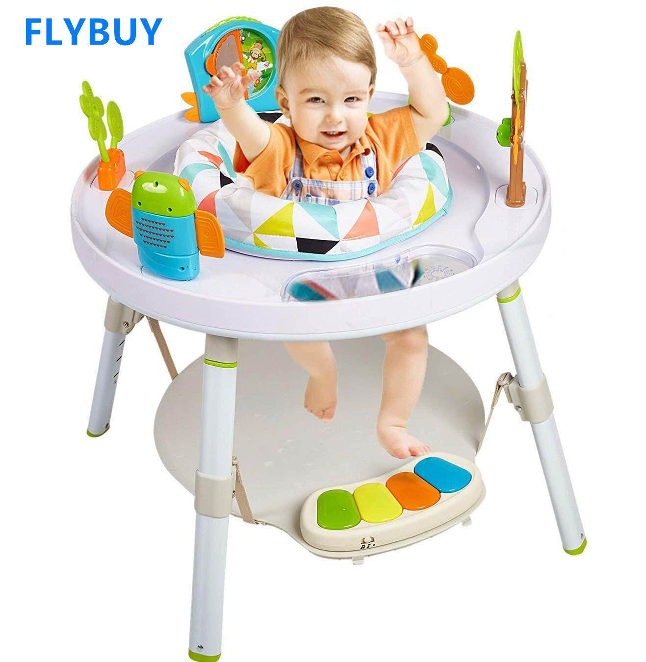 Baby 3 Stage Activity Center Sit Stand Play Table 360 Degree Rotating Play Chair Jumperoo baby toys kids toys