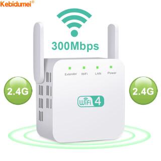 Kebidumei Bộ Mở Rộng Không Dây 2.4G 5Ghz, Bộ Khuếch Đại WiFi 300 1200Mbps Bộ Mở Rộng Tầm Xa Wi-Fi Điểm Truy Cập thumbnail