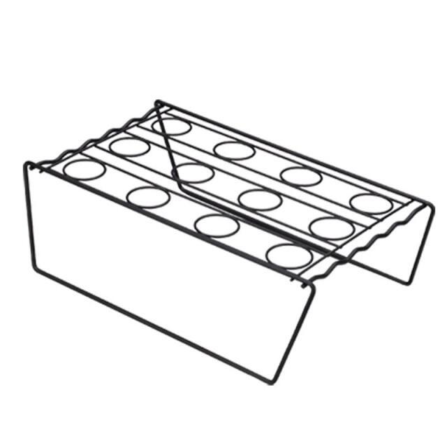 Khay Đựng Kem Ốc Quế Tự Làm, Giá Trưng Bày Kem Hình Nón Bằng Inox Nón Nướng Bánh Giá Đỡ Khay Làm Mát Bánh Cupcake
