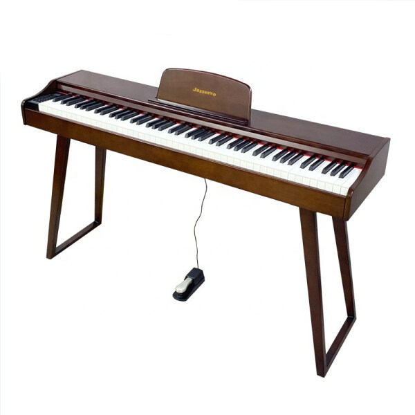 Solid Wood Digital Piano Portable Hammer Action Touch Jazzeevo Good Sound Malaysia