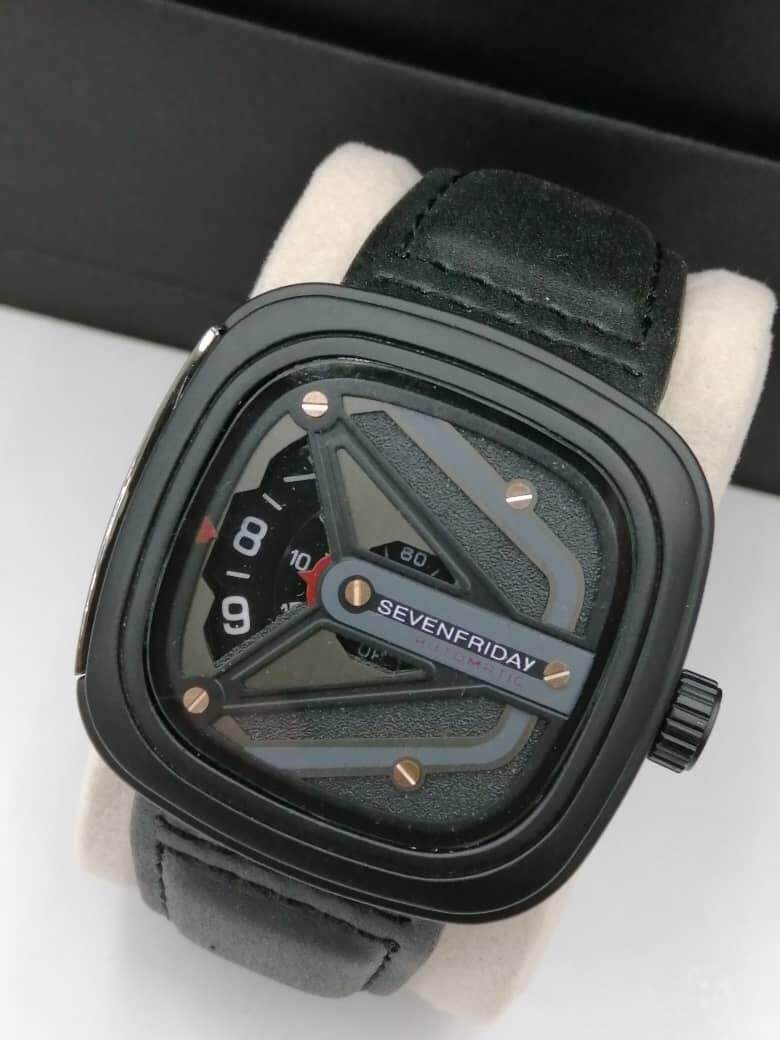 [LOCAL SELLER] New Fashion 7-Friday Watch 100% Leather Free Box Malaysia