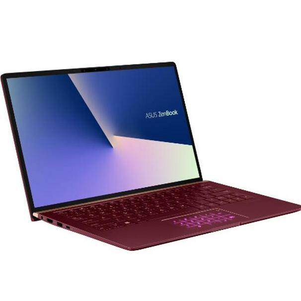 Asus Zenbook UX333F NA4162T (Burgundy Red) 13.3 FHD Laptop (I7-8565U / i5-8265U , 8GB, 512GB, MX150 2GB, W10)FOC Sleeve Malaysia