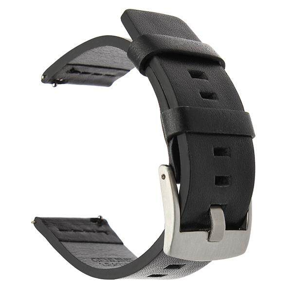 18 20 22 24mm Genuine Leather Watch band Strap for Amazfit Huawei Galaxy watch Gear Sport Watch Band Quick Release Bracelet Malaysia