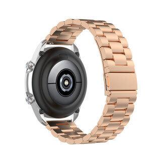Dây Kim Loại Tương Thích Với Samsung Galaxy Watch 3 41Mm 45Mm, Dây Đeo Thép Không Gỉ Cho Samsung Galaxy Watch 3 Đồng Hồ Thông Minh thumbnail