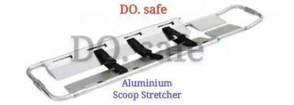 ALUMINIUM SCOOP STRETCHER