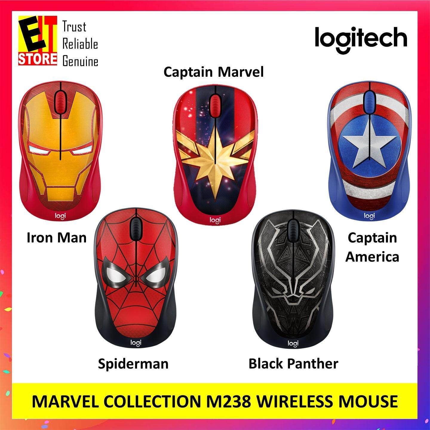 LOGITECH M238 MARVEL COLLECTION WIRELESS MOUSE Malaysia