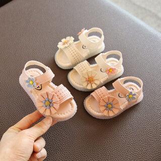Trẻ Em Giày, Công Chúa Dép, Giày Đi Bộ Cho Bé Gái Giày Trẻ Sơ Sinh Trẻ Mới Biết Đi 10 Tháng Thời Trang Hoa Thủy Triều Đế Mềm 0-1-2 Tuổi thumbnail