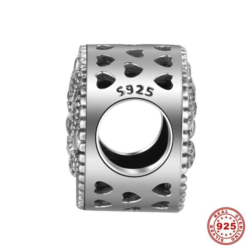 S925 European sterling silver statement number pattern can be made necklace bracelet