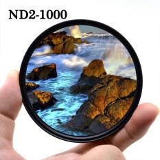 Bộ Lọc Ống Kính Máy Ảnh Điều Chỉnh Mật Độ Trung Tính KnightX ND2-1000 Cho Canon Sony Nikon 700d D5100 2000d 50d Ảnh D80 Light Dslr 500d 24-105 400d Phụ Kiện D70 Dslr 200d 500d 60d D5100 18-135 49 52 55 58 62 67 72 77 Mm