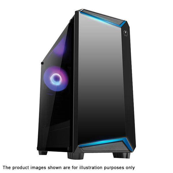 AVF Gaming Freak FLUX K12G Premium Middle Tower Case M-ATX/ATX Tempered Glass Edition Malaysia