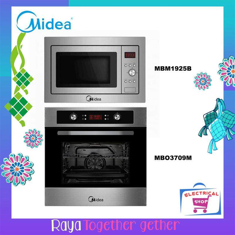 Midea Mbo3709m Oven 70l And Mbm1925b Microwave Oven 25l [built In] By Electrical Shop.