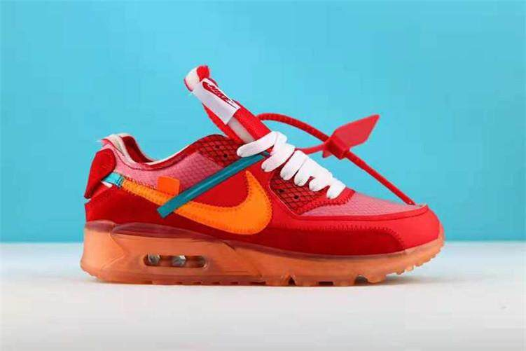 0e39828e09cf Nike Original Men Sneakers High Quality Nike Air MAX90 x Off-White 90 Shoes  (