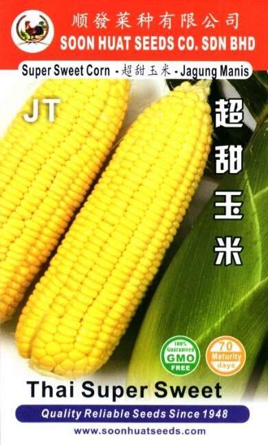 Soon Huat Sweet Corn Seeds Jagung Manis JT