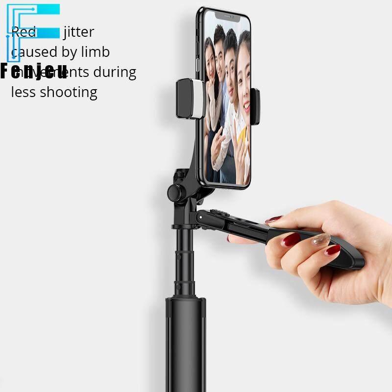 Giá Mới Máy Ảnh Chất Ổn Định Bluetooth Gậy Tự Sướng Ổn Định Video Selfie Stick Tripod Cho iPhone Xiaomi Huawei Gimbal