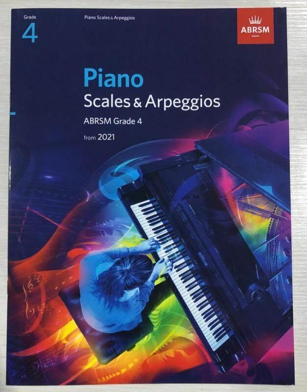 Piano Scales & Arpeggios ABRSM Grade 4 From 2021 Malaysia