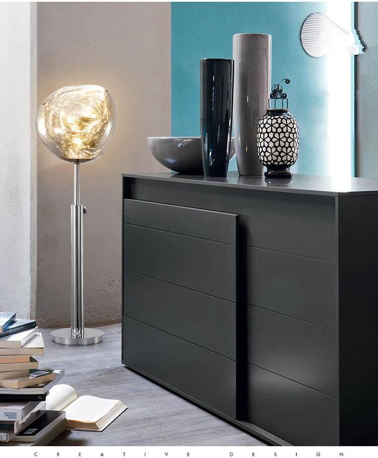 Fashion Simple Modern Table Lamp Warm Bedroom Bedside Lamp Cafe LED Desk Light Floor lamp