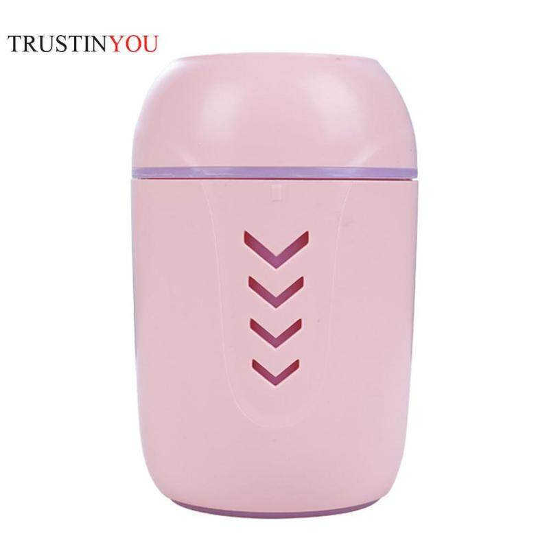 200ml 3 in 1 USB 7 Color Night Light Fan Ultrasonic Air Humidifier Aroma Essential Oil Diffuser Aromatherapy Air Purifier Mist Maker for Office Home Car Singapore