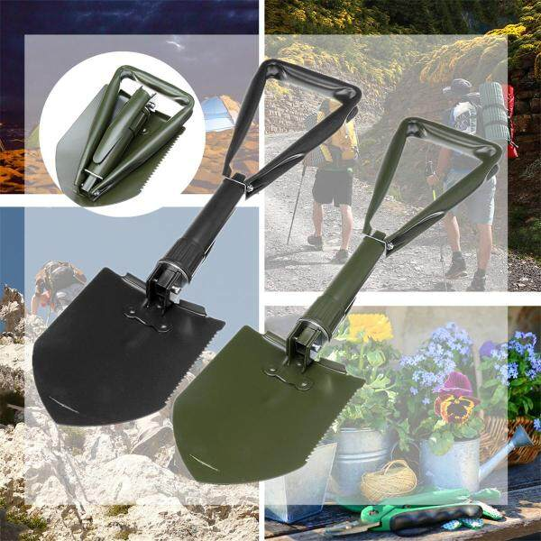Folding Shovel Lightweight - Spade Entrenching Tool Camping Emergency New