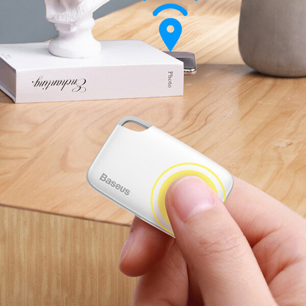 Baseus T2 Thiết Bị Chống Mất Thông Minh Bluetooth Mini Siêu Mỏng Sling Hai Chiều Theo Dõi Đối Tượng Báo Động Từ XIAOMI Chuỗi Sinh Thái