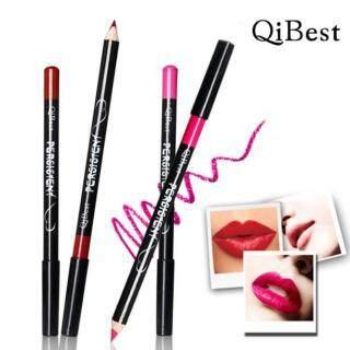 Pensil Garis Bibir Tahan Air, Alat Make Up Lipliner Tahan Lama 12 Buah Set thumbnail