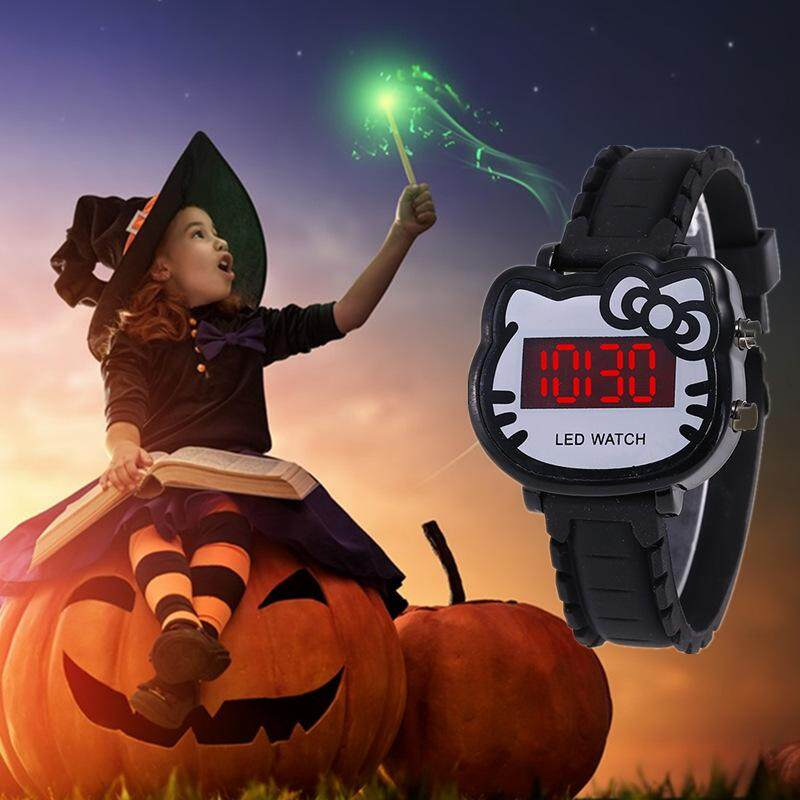 Watch Women Led Digital Cartoon Wrist Watches Children Girls Casual Womens Clock FWKI 02 Malaysia