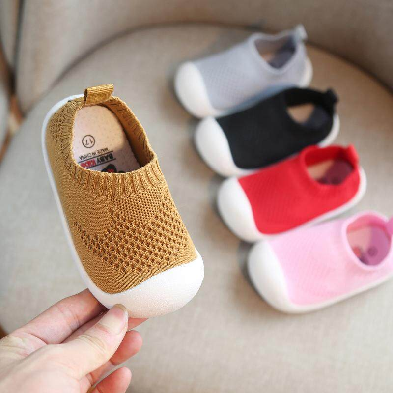 6ca784a99e 2019 Baby Mesh Toddler Shoes Girls Boys Casual Mesh Shoes Soft Bottom  Comfortable Non-slip Kid Baby First Walkers Shoes Summer