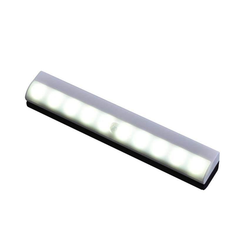 10 Đèn LED Cảm Biến Chuyển Động Từ Tính Đèn Ban Đêm Cảm Biến Dính Cho Tủ Quần Áo Tủ Quần Áo