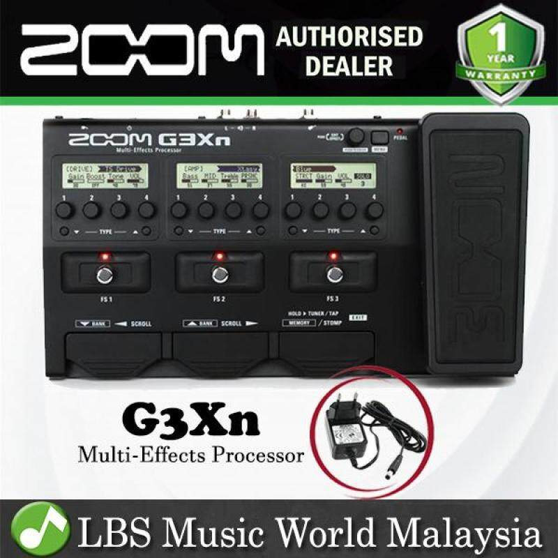 Zoom G3Xn Effect Multi Effects Processor with Expression Pedal and Adapter Malaysia