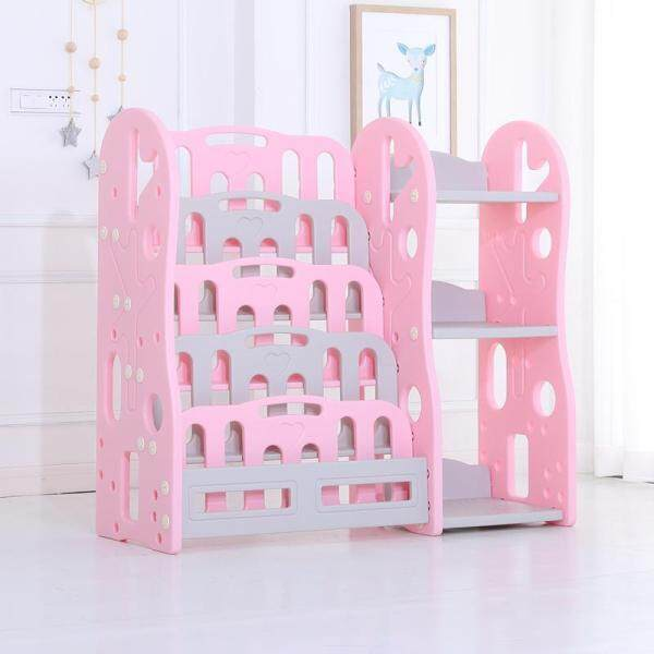 Book Racks Bookshelf, Childrens Toys Mini Multi-Function Plastic Box, Kids Toy Organizer, Toy Storage Rack