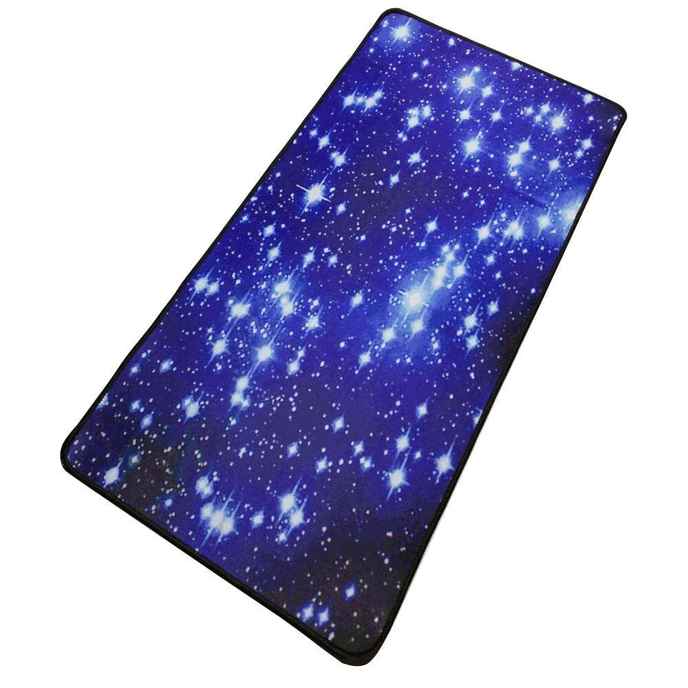 Mouse Pad Starry Sky Picture Locking Edge Large Anti-Slip Gaming Mouse Mat for PC Computer Laptop MackBook Malaysia