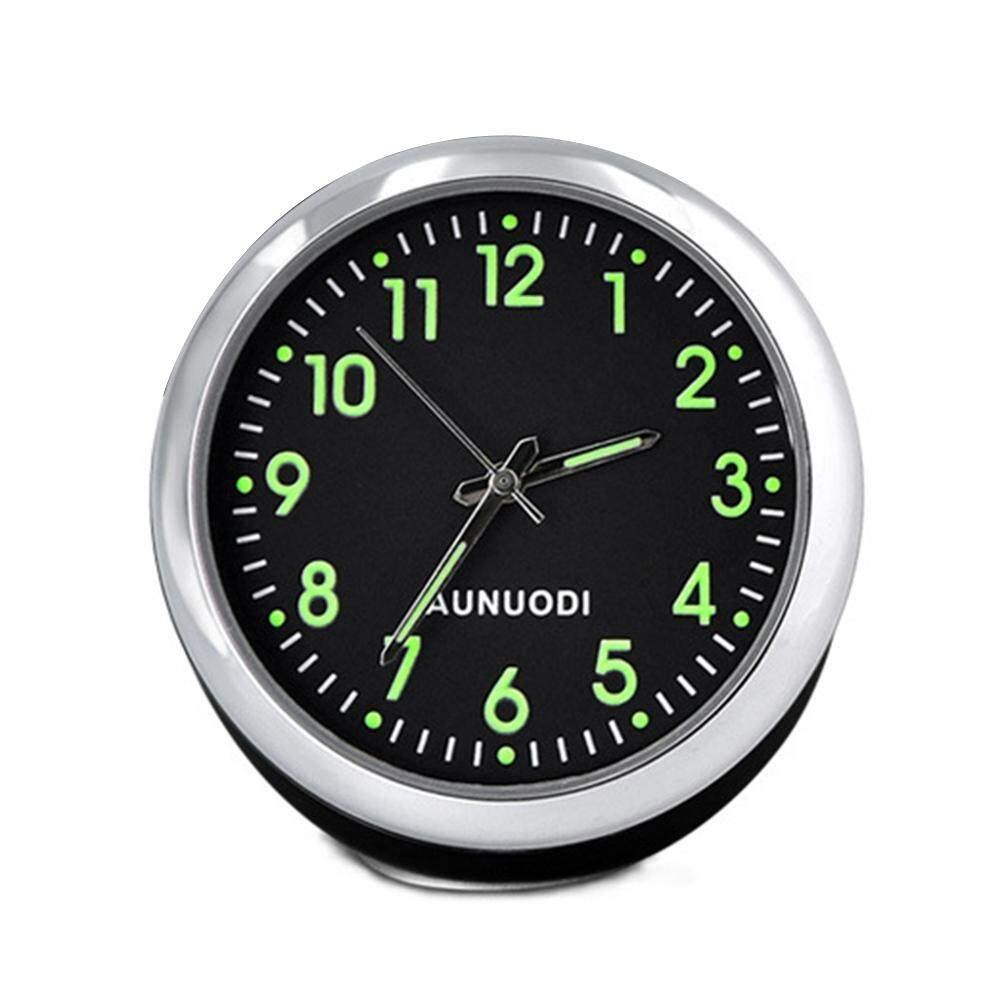 Oem Car Clock, High Accuracy Car Dashboard Clock Classic Table Mini Quartz Clock Car Onboard Small Round Luminated Clock By Dawnnewdew.