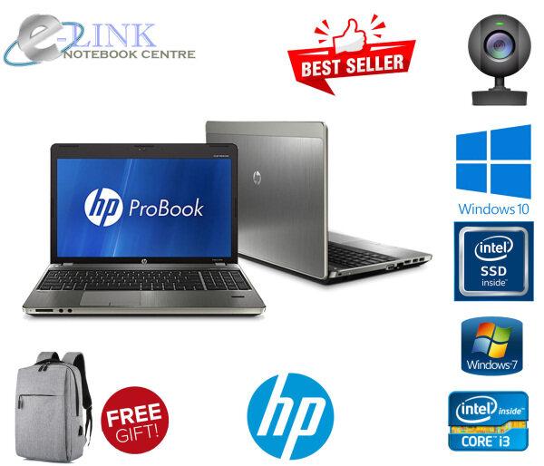 HP Probook 5220 4530s 4540s  i3 1Gen - 3Gen / 4GB-8GB RAM / 250GB HDD / 120GB-240GB SSD / 15.6Screen Malaysia