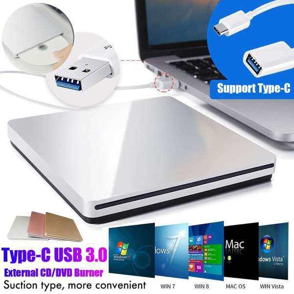 Bảng giá Chạm Vào USB 3.0 + Ổ Đĩa DVD Type-C, Trình Điều Khiển Đầu Ghi CD Máy Ghi Đọc Tốc Độ Cao Không Ổ Đĩa, Đầu Đọc DVD-RW Ngoài Phong Vũ