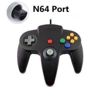 Tay Cầm Chơi Game N64 Có Dây Chơi Game Phím Điều Khiển, Dành Cho Gamecube, Tay Cầm Chơi Game PC Cho Máy Mac thumbnail