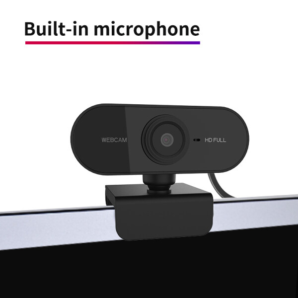 Ikesai [ On sale ] 1080P 30fps Auto Focus HD Webcam Built-in Microphone High-end Video Call Camera Computer Peripherals Web Camera For PC Laptop online class