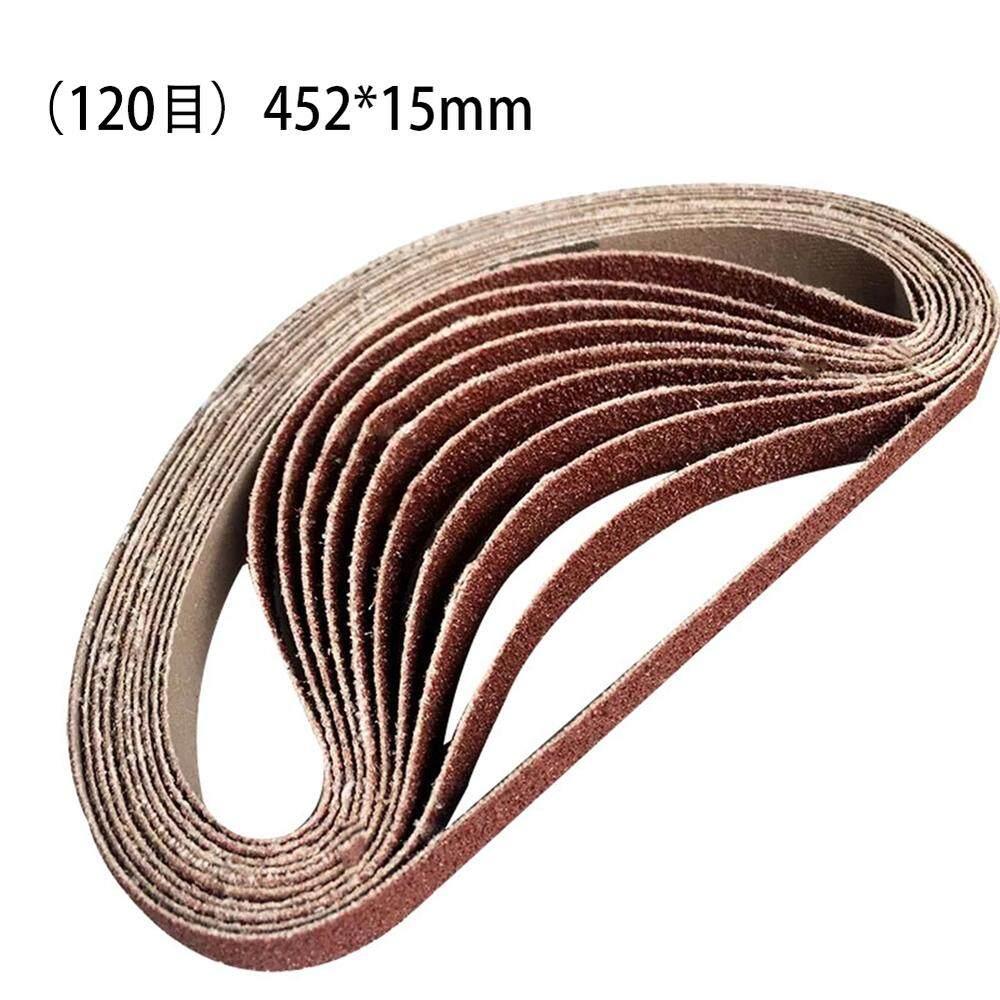 [[Comebuy88] 10 chiếc 15mm x 452 Chà Nhám Thắt Lưng cho Máy Mài Góc Băng Chà Nhám Adapter