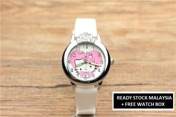 ICE Kids/Childrens Sport and Casual Hello Kitty Analog Watches + Watch Box Best Gift Jam Tangan Malaysia