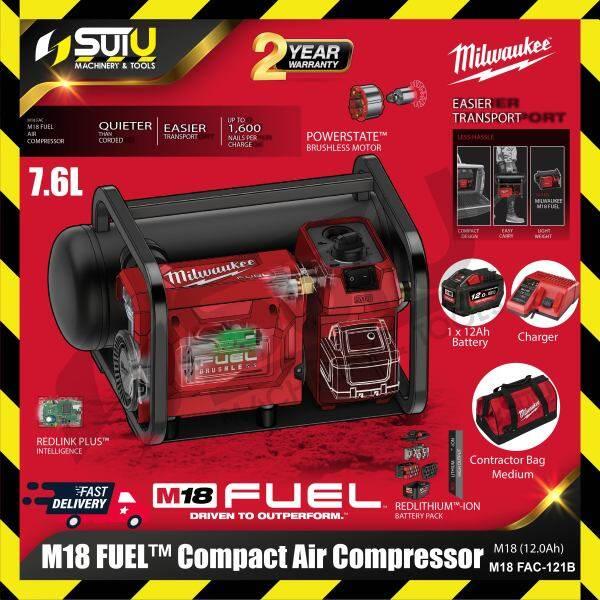 Milwaukee M18 FAC-0 / FAC-121B FUEL™ 7.6L Compact Air Compressor ( SOLO / SET )