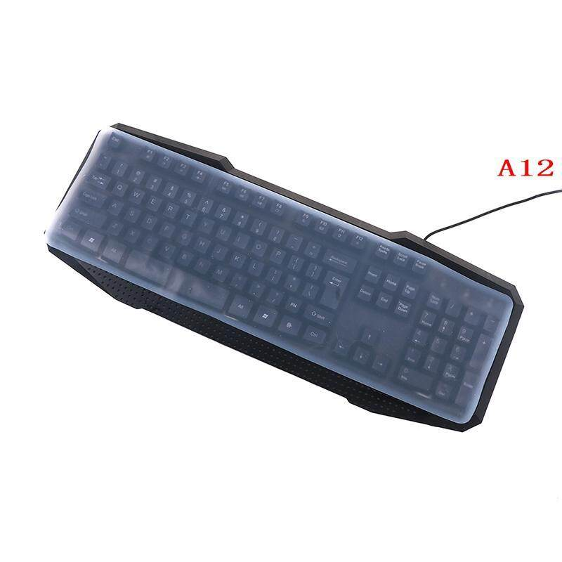 Sky Wing Colorful silicone universal desktop computer keyboard cover skin protector Style:A1 Malaysia