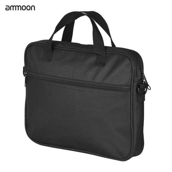 ammoon Portable Cajon Box Drum Bag Thickened 480D Drum Bag Percussion Instrument Replacement Accessory with Outside Pocket Malaysia