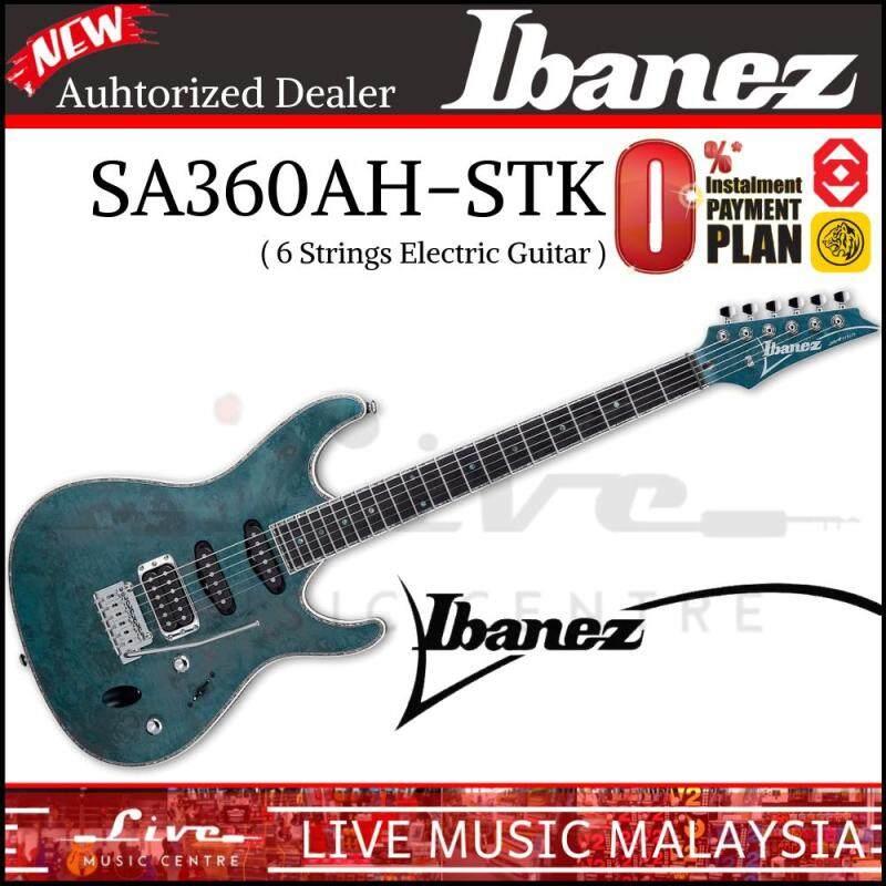 Ibanez SA560MB-ABT Aqua Blue Flat Electric Guitar (SA560MB) Malaysia