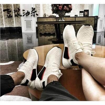 28a2ee0ad7ccf  ready stock  original Adidas black and white panda socks leisure shoes
